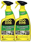 Goo Gone All Purpose Cleaner Spray (2 Pack) - Home Degreaser - Removes Dirt, Grease, Grime - 32 Ounce Concentrated