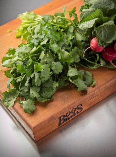 John Boos Block CHY-R03 Cherry Wood Edge Grain Reversible Cutting Board, 20 Inches x 15 Inches x 1.5 Inches