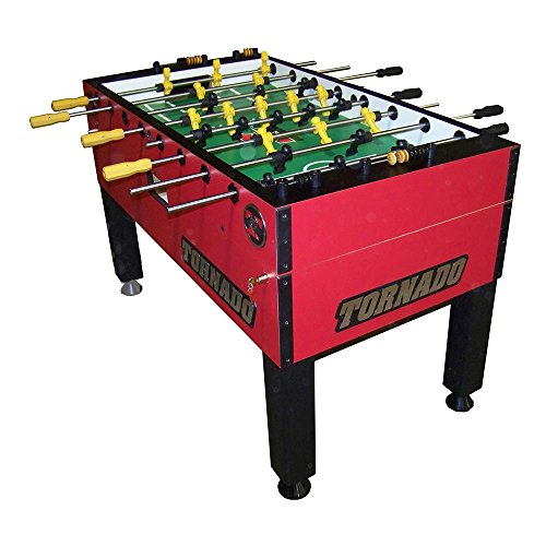 Tornado Foosball Table - Made in The USA - Commercial Tournament Quality for The Home - Made by...