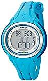 Timex Women's TW5K906009J Ironman Sleek 50 Pool Blue Silicone Strap Watch
