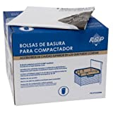Whirlpool W10165294RB 11780005644 15-Inch Plastic Compactor, 60 Bags