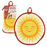 Tortilla Warmer 10- Insulated, Microwaveable Fabric Pouch by Camerons Products- Keeps Tortillas Heated for up to One Hour (Sun Design)