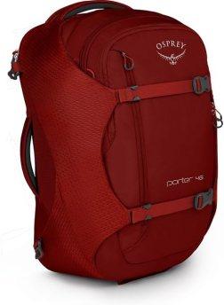 Osprey Porter 46 best travel day backpack for europe