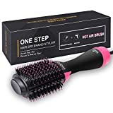 Hair Dryer Brush, IKEDON Dry, Straighten & Curl One Step Hair Dryers with Negative Ion forReducing Frizz and Static