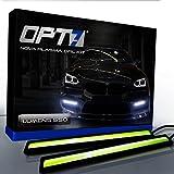 OPT7 Nova Plasma DRL Light Bars - (550 Lumens) 17cm COB Daytime Running Light White