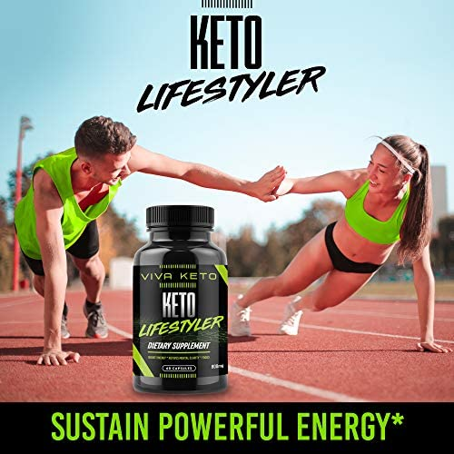 Keto Diet Pills Supplement - Exogenous Ketones Ketogenic Diet Pills - Supplies Energy - 60 Capsules 6