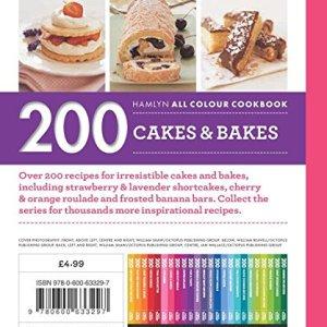 200 Cakes & Bakes: Hamlyn All Colour Cookbook (Hamlyn All Colour Cookery) 51EcHiXPPvL