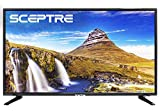 Sceptre X415BV-FSR 40' Slim LED FHD 1080p TV Flat Screen HDMI MHL High Definition and Widescreen Monitor Display ATSC/QAM 3 x HDMI Ports, Metal Black (2019)