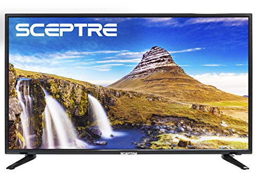Sceptre Slim 40 Inch LED HDTV 1080p X415BV-FSR True Black (2017 Model)