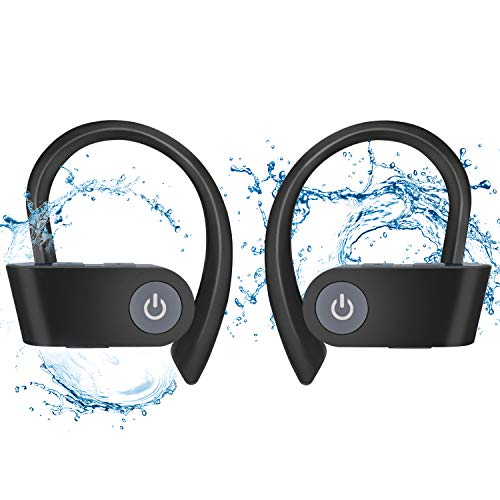 Bluetooth Headphones Wireless 4.2 in Ear Earbuds Sports Magnetic Earphones with Built in Mic, Wireless Headphones, Compatible for Android and iOS System