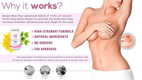 Breast Enhancement Pills   Breast Max Plus - The BEST Top Rated Natural Augmentation that works!
