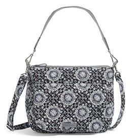 Vera-Bradley-Womens-Signature-Cotton-Carson-Shoulder-Bag-Crossbody-Purse