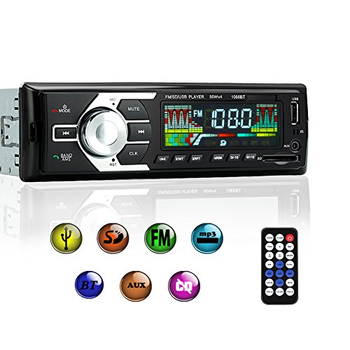 2. KYG Car Stereo Receiver with Bluetooth
