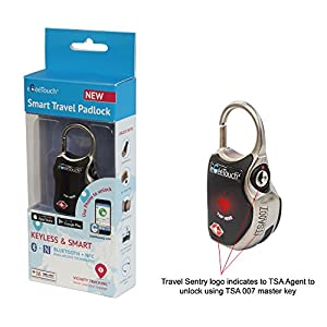 eGeeTouch Smart Luggage Lock is TSA approved