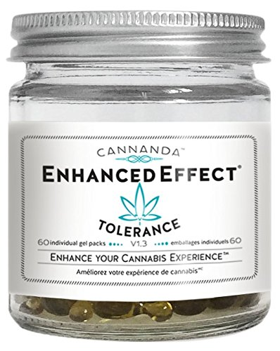 ENHANCED EFFECT - Enhance Your Cannabis Experience! Boost and Enhance the Effects of THC and CBD! Advanced Terpene Formula for Increased Absorption and Reduced Tolerance. Physician Formulated. 60 gels