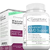 EyesightLabs Macular Degeneration Eye Vitamins - AREDS 2 Vision Supplements To Avoid Vision Loss - Protect Your Macula From Damage - w Lutein, Zeaxanthin - Quality Bilberry Eye Vitamins
