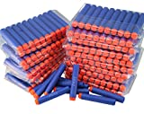 Nerf Compatible Bullets 300 Darts Hard Head for Elite N Strike Refill Series Pack for Kid Toy Gun Fire Blaster by ZTOZZ (Blue Hard Tip, 300pcs)