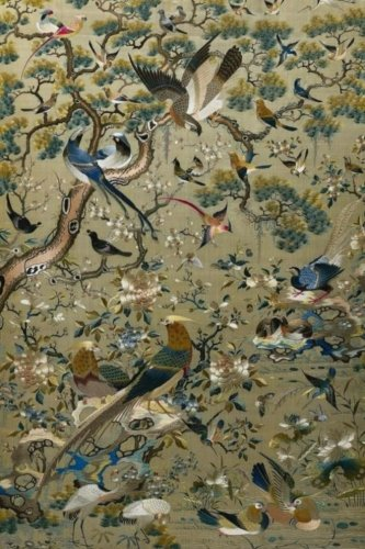 Journal: Chinese Silk Tapestry - Birds