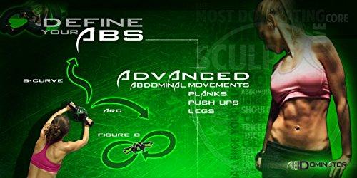 AbDominatorWheel: Ab Workout Exercise Equipment