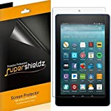 Supershieldz [3-Pack] for All-New Fire HD 8 Tablet 8' (8th/7th Generation - 2018/2017 Release) Screen Protector, High Definition Clear Shield - Lifetime Replacement