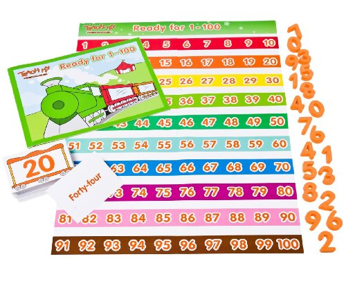 Teach My Preschooler Numbers 1 to 100