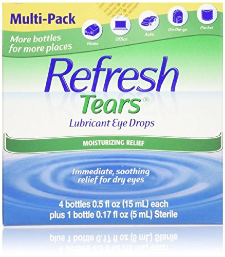 Allegran Multi-Pack 65 ml Refresh Tears, Value 5Pack 2.17 FlOZ