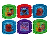Evriholder Holographic 3D Sesame Street Sandwich Sav'r Container 6-Pack (Assorted Sesame Street Characters))