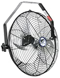 Maxx Air HVWM 18 UPS Wall Mount Fan 18 Inch | Commercial Grade for Patio, Garage, Shop