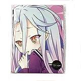 Funky Store Anime No Game No Life Shiro Hugs Pillow Case Hug Pillow Cover 150cm x 50cm (59 inch x 19.6 inch) Manga Cosplay Long Hugging Body Peach Skin Pillowcase (Shiro)