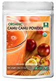 Organic Camu Camu Powder (1/4lb) by Naturevibe Botanicals, Gluten-Free & Non-GMO (4 ounces)