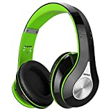 Mpow 059 Bluetooth Headphones Over Ear, Hi-Fi Stereo Wireless Headset, Foldable, Soft Memory-Protein Earmuffs, w/Built-in Mic and Wired Mode for PC/Cell Phones/TV.