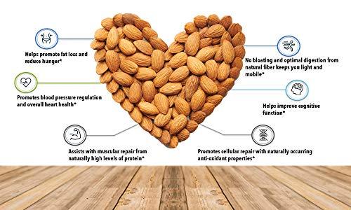 51FBoyCZG3L - Fruitri Premium California Almonds, 100% Natural Badam Giri (250gm)
