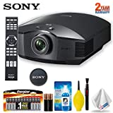 Sony VPL-HW45ES Full HD Home Theater Projector Accessory Kit - Includes - Extra Batteries, Cleaning Kit and Extended Warranty