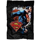 "Fan of Superman Soft Fleece Throw Blanket, The Man of Tomorrow Fleece Luxury Blanket (Medium Blanket (60""x50""))"