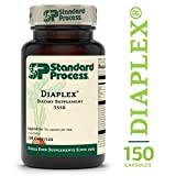 Standard Process - Diaplex - Supports Healthy Sugar Handling, Bowel, Gallbladder, and Pancreas Function, Provides Vitamin A, Vitamin C, Niacin, Vitamin B6, Iodine, Chromium - 150 Capsules