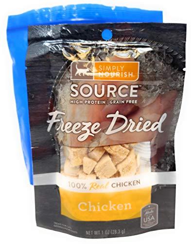Tesadorz-Simply-Nourish-Freeze-Dried-Cat-Treats-1-Ounce-Pack-of-3-Resealable-Bags