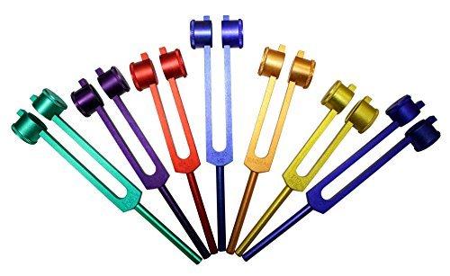 8 Chakra Tuning Forks