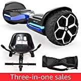 Magic hover 6.5' inch All Terrain Off Road T581 Hoverboard,with Bluetooth Speaker and App-Enabled, Smart Self...