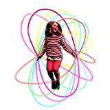 Kids Jump skipping Rope Light Up -LEDs Flashing Color Change Skipping Rope Light Fun Toy for Girls Boys Ages 6 7 8-14 Years  Positive Skipping Exercise & Night Party