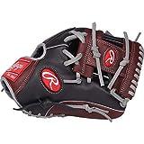 Rawlings R9 Baseball Glove, Black, 11.5'