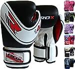 RDX Maya Hide Leather Kids Muay Thai Gloves