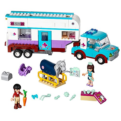LEGO 41125 Horse Vet Trailer Building Kit