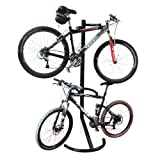 1107 RAD Cycle Gravity Bike Stand Bicycle Rack For Storage or Display Holds Two Bicycles But Takes Up Half The Space