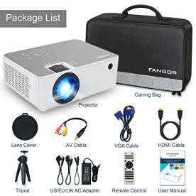1080P-HD-Projector-WiFi-Projector-Bluetooth-Projector-FANGOR-6500-Lumen-230-Portable-Movie-Projector-Compatible-with-TV-Stick-HDMI-VGA-USB-Laptop-iOS-Android-for-PowerPoint-Presentation