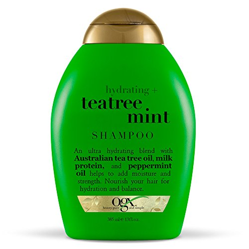 OGX Hydrating TeaTree Mint Shampoo, 13 Ounce...