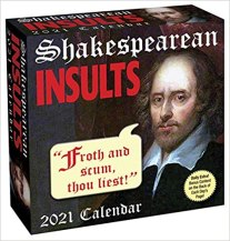 Shakespearean Insults 2021 Page-a-day Calendar