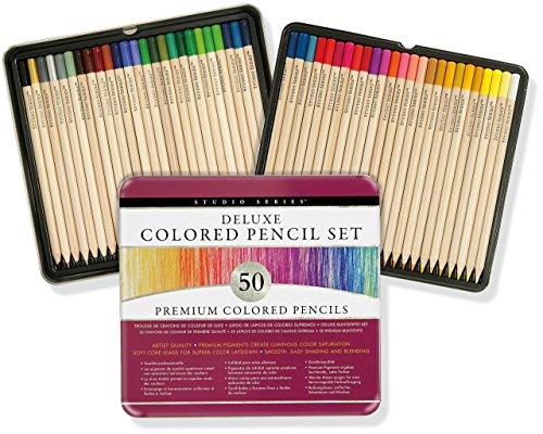 Studio Series Deluxe Colored Pencil Set (Set of 50)
