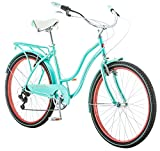 Schwinn Perla Cruiser Women's Bicycle, 26 inch wheel size, Blue bike