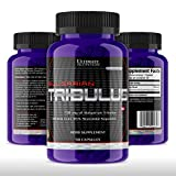 Ultimate Nutrition Tribulus Terrestris Testosterone Booster and Estrogen Blocker - Ultra Potent 45% Steroidal Saponins - Natural Endurance, Strength, and Stamina Booster, 750mg, 90 Capsules
