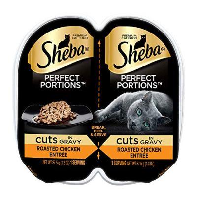 Sheba Perfect PORTIONS Cuts in Gravy Entrée Wet Cat Food